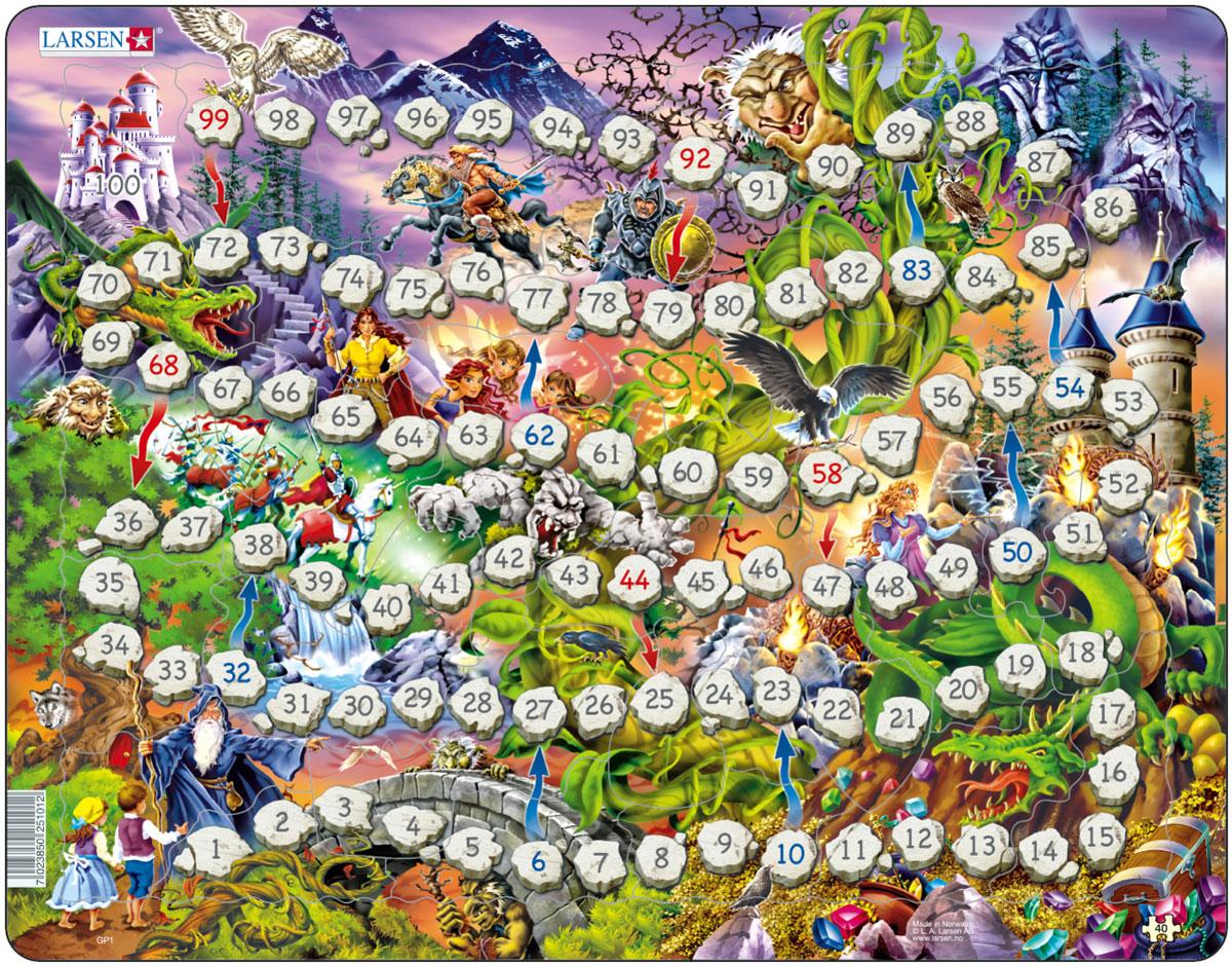Larsen Пазл-игра Волшебное королевство