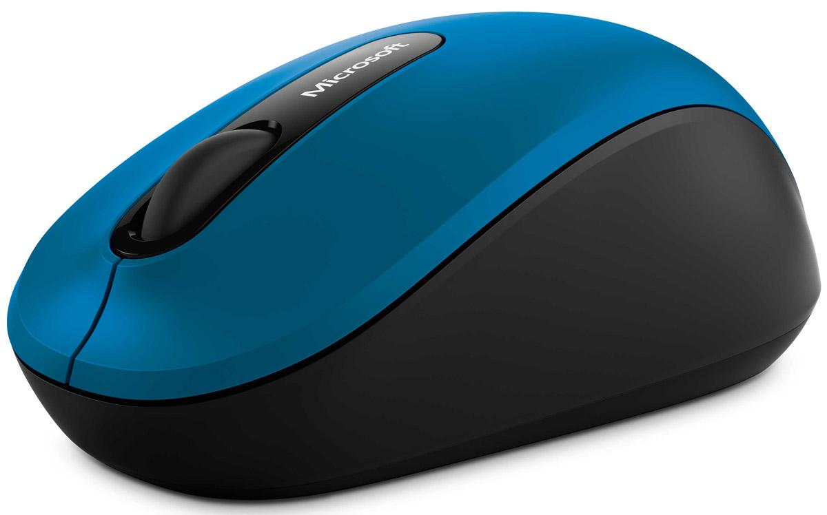 лучшая цена Мышь Microsoft Bluetooth Mobile Mouse 3600, Blue беспроводная