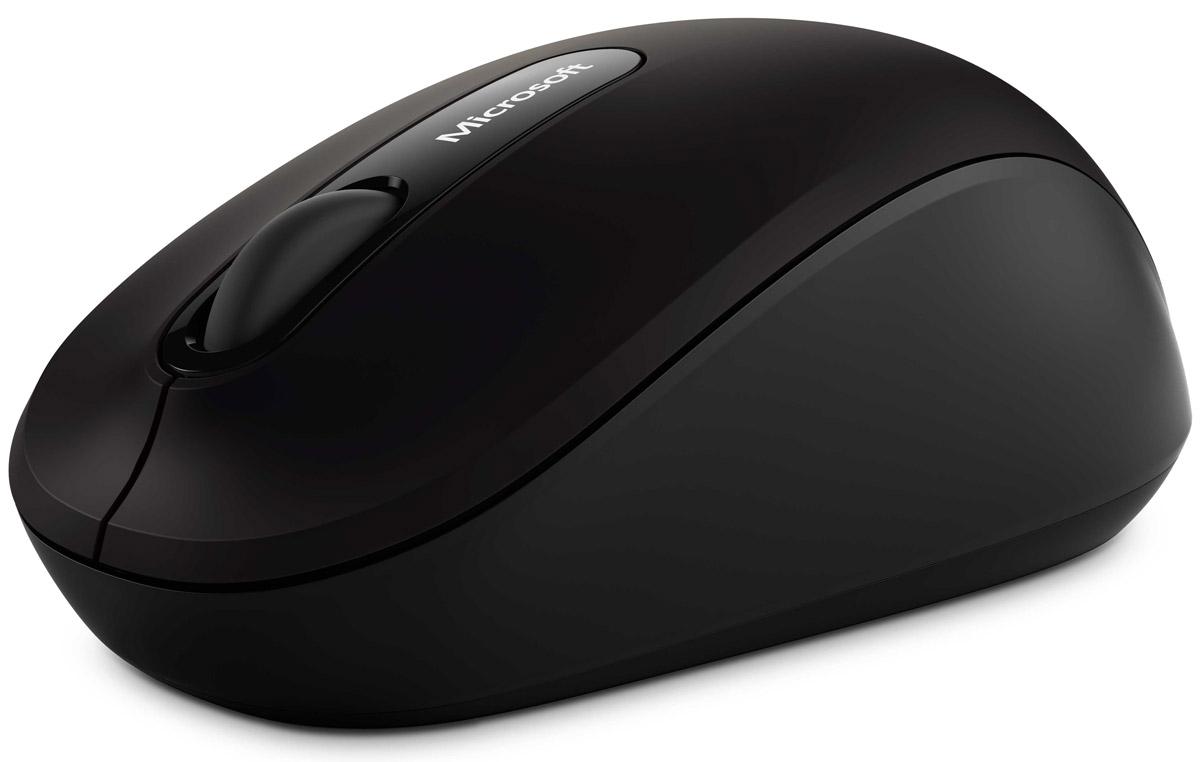 Мышь Microsoft Bluetooth Mobile Mouse 3600, Black беспроводная microsoft 3600 bluetooth 4 0 mobile mouse for windows 10 8 1 8 tablet notebook