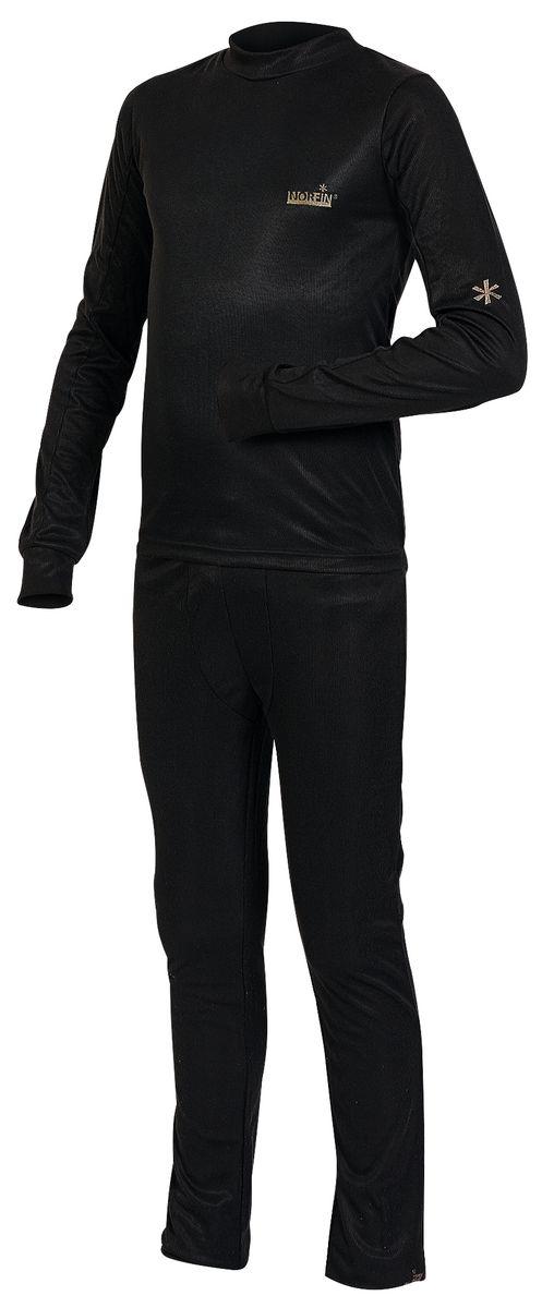 Фото - Комплект термобелья Norfin комплект термобелья для мальчика norfin junior thermo line футболка с длинным рукавом брюки цвет черный 308101 размер 170