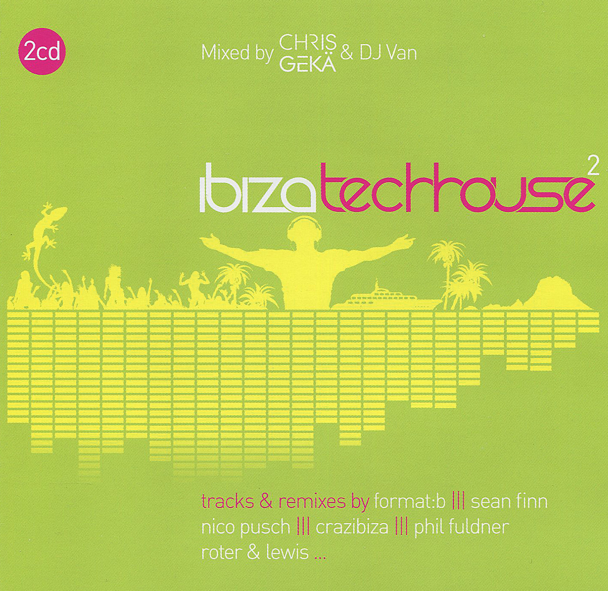 BK Duke,Mea,Рони Голдинг,Стэнни Абрам,The Cube Guys,Дэни Кохиба,Кармен Электра,Эдди Амадор,Audiomodelz,Ultra Nate,Nico Pusch,Andy B. Jones,Disco Fries,Cappella,Фил Фулднер,Полина Гриффис,Dj A.N.D.Y.,DJ Van,Crizzn Ibiza Tech-House 2 (2 CD) disco house 2016 2 cd
