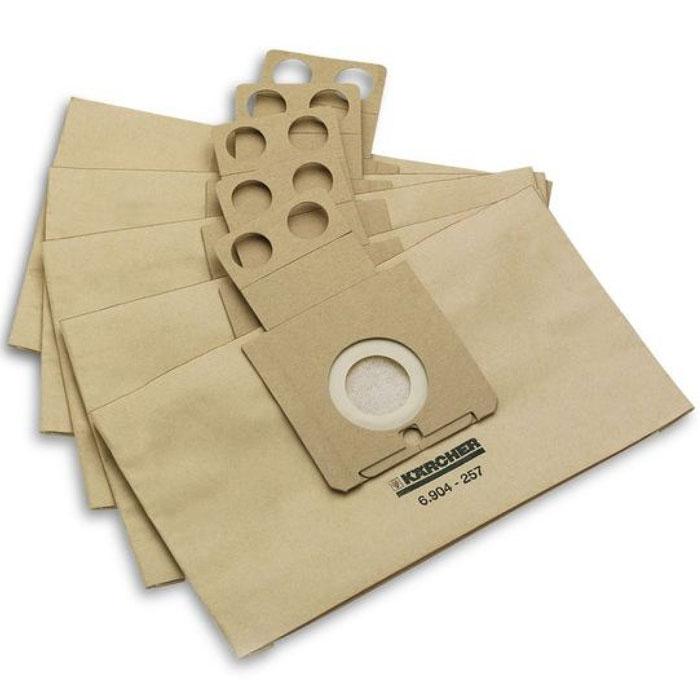 Karcher 69042570 фильтр для RC 3000/4000, 5 шт комплект мешков пылесборных для пылесоса karcher 6 907 479