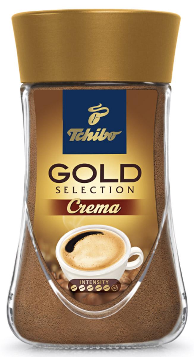 Tchibo Gold Selection Crema кофе растворимый, 90 г декор absolute keramika gold crema 03 decor 15x45