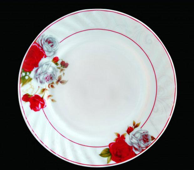 Тарелка обеденная Chinbull Классик, диаметр 23 см тарелка глубокая chinbull грация диаметр 23 см