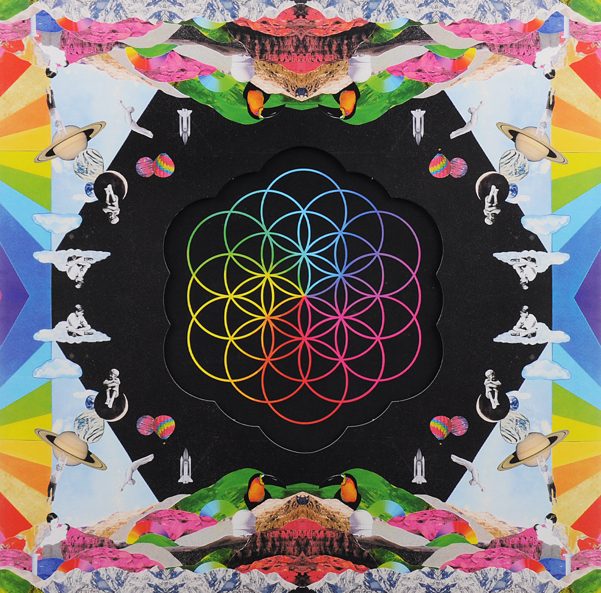 Coldplay Coldplay. A Head Full Of Dreams (2 LP) coldplay coldplay a rush of blood to the head lp