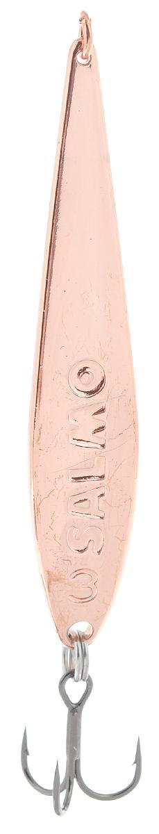 Блесна вертикальная зимняя Lucky John, цвет: медный, 5,5 см, 6 г