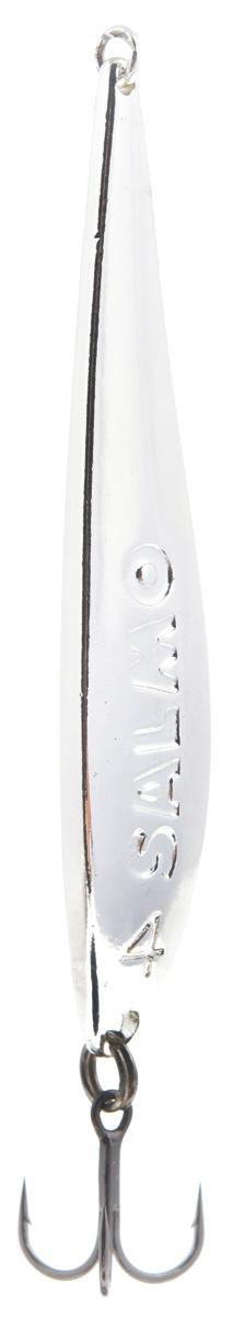 Блесна вертикальная зимняя Lucky John, цвет: серебряный, 6,7 см, 11 г