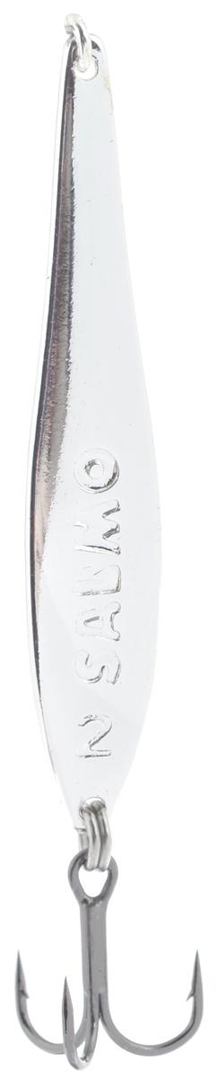 Блесна вертикальная зимняя Lucky John, цвет: серебряный, 4,2 см, 3,5 г блесна вертикальная зимняя lucky john цвет серебряный 4 2 см 3 5 г