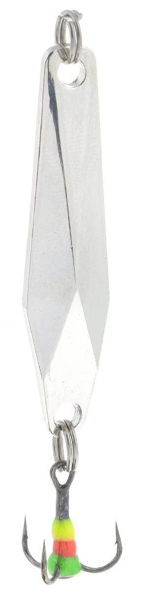 Блесна зимняя SWD, цвет: серебряный, 48 мм, 7 г