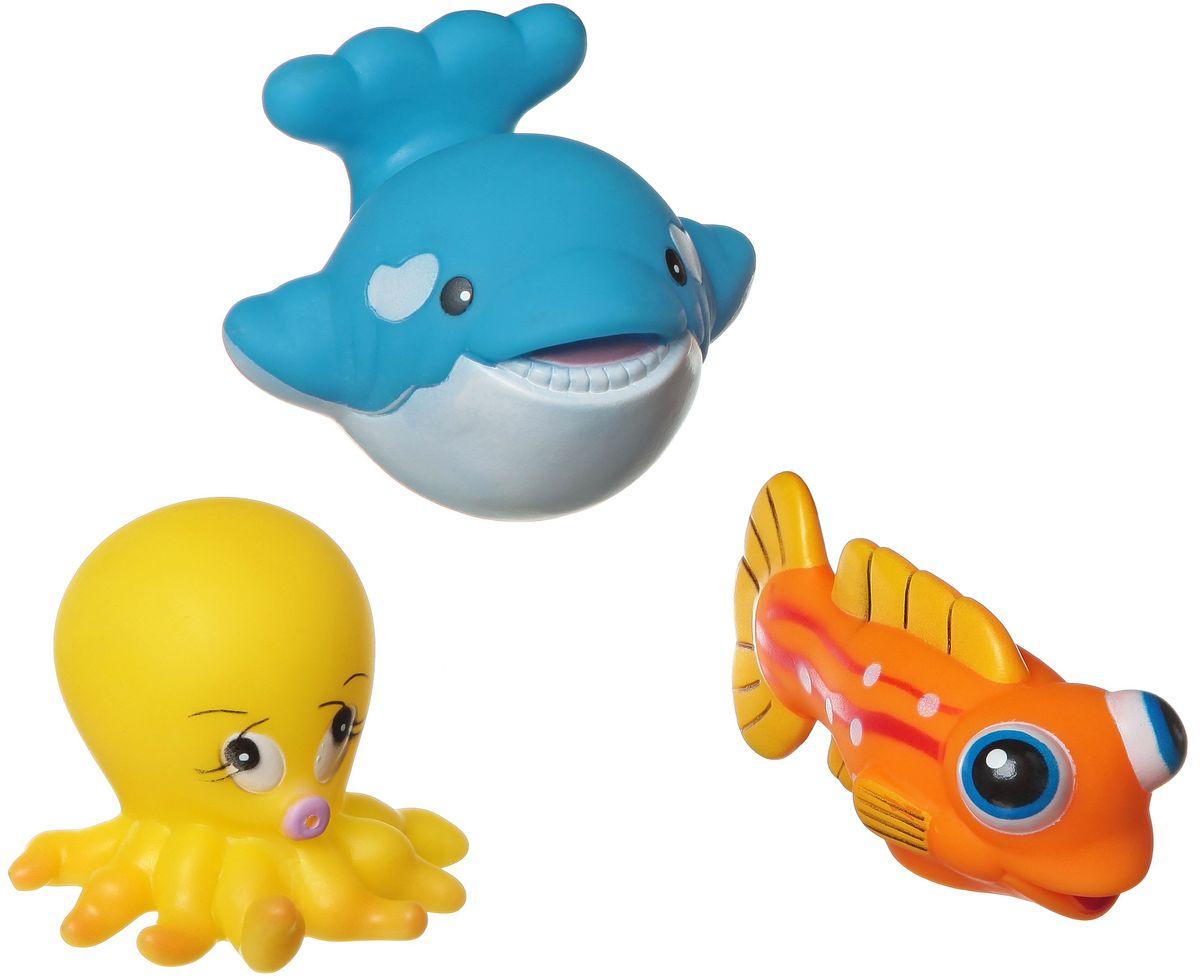 Bondibon Набор для купания Кит, Рыба, Осьминог bondibon развивающая игрушка bondibon baby you слон