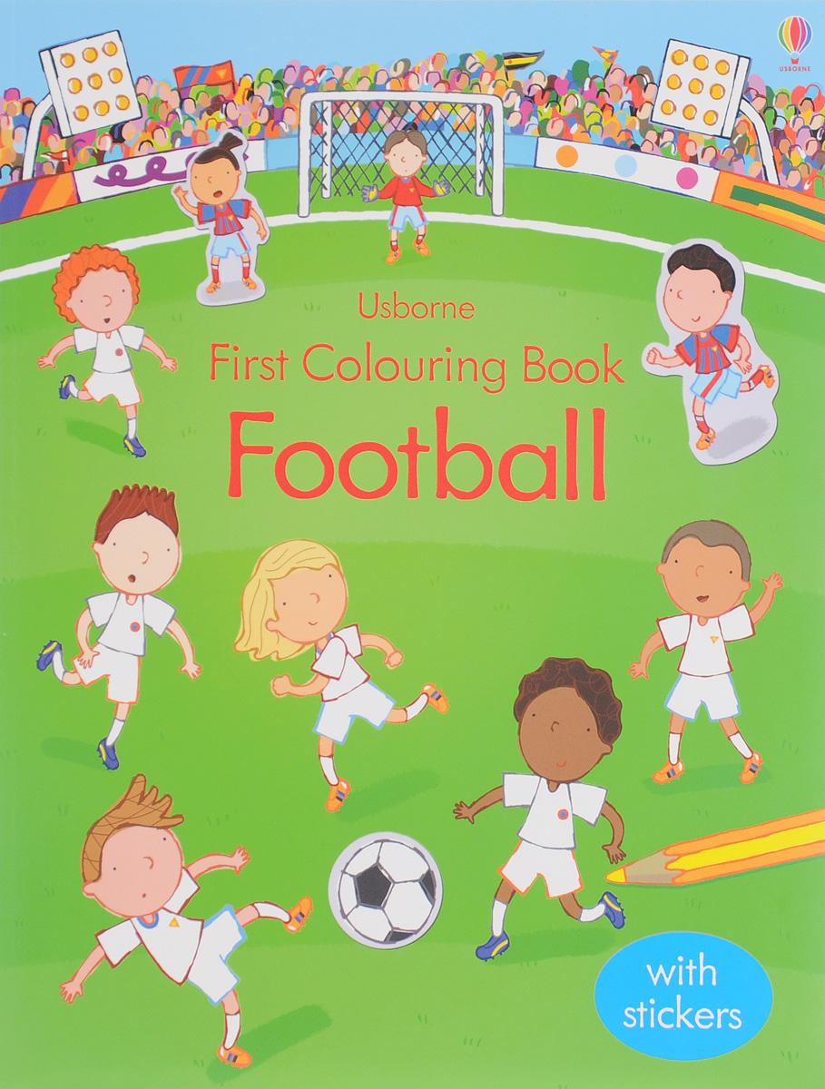 First Colouring Book Football (+ наклейки) все цены