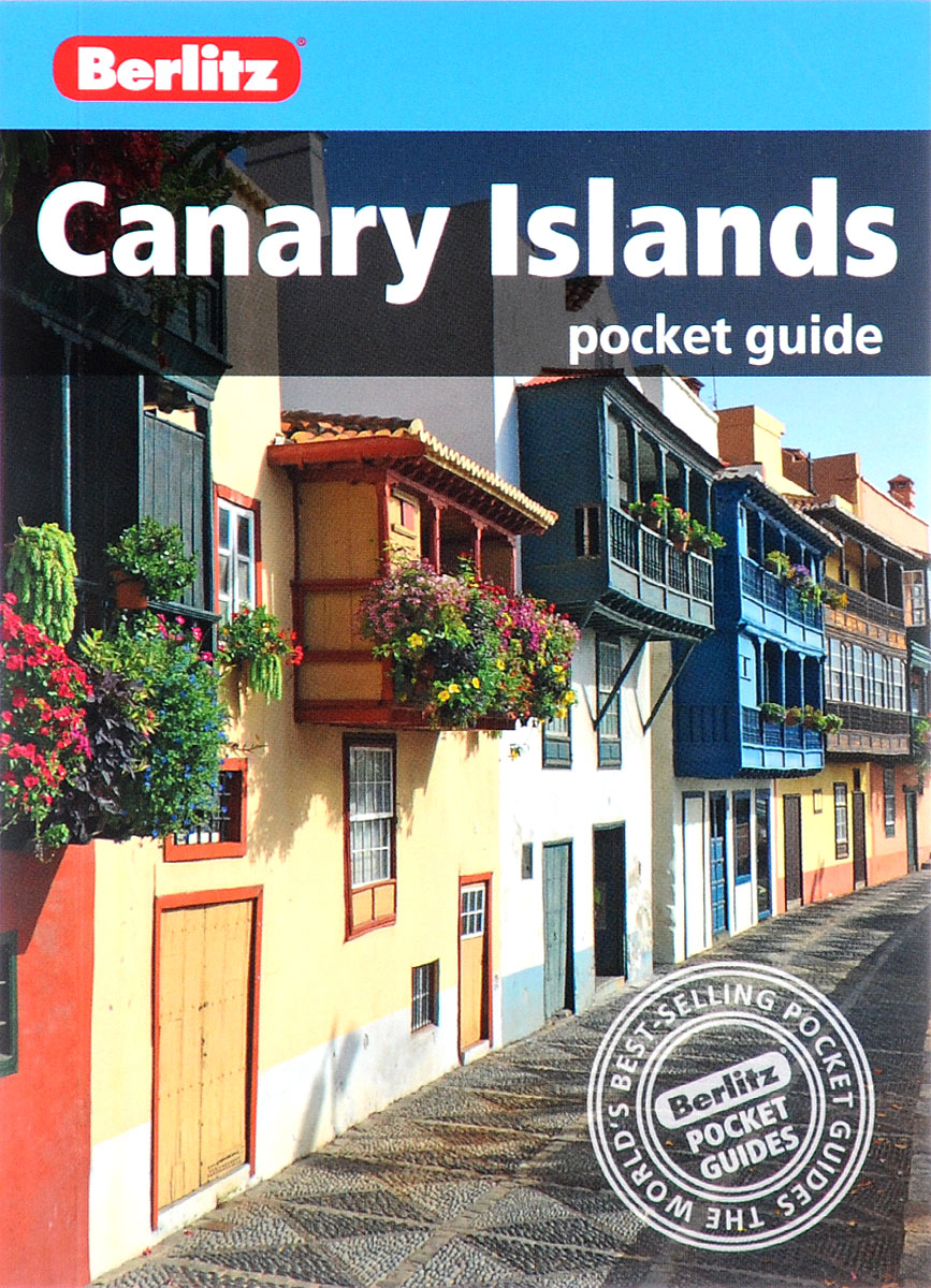 Canary Islands: Pocket Guide berlitz costa dorada pocket guide