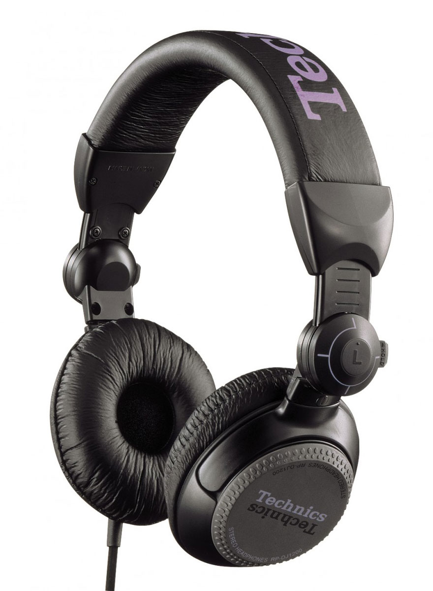 Technics RP-DJ1200E-K, Black наушники