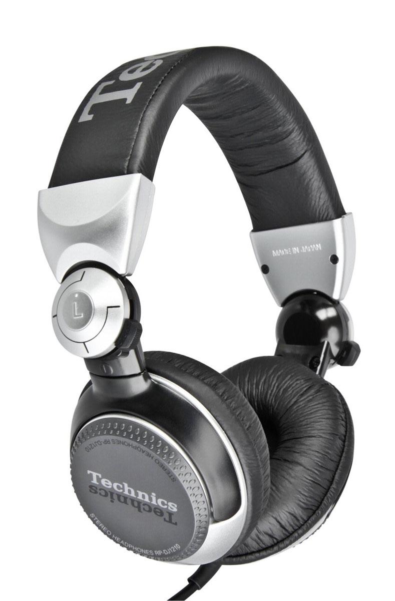 Technics RP-DJ1210E-S, Silver наушники