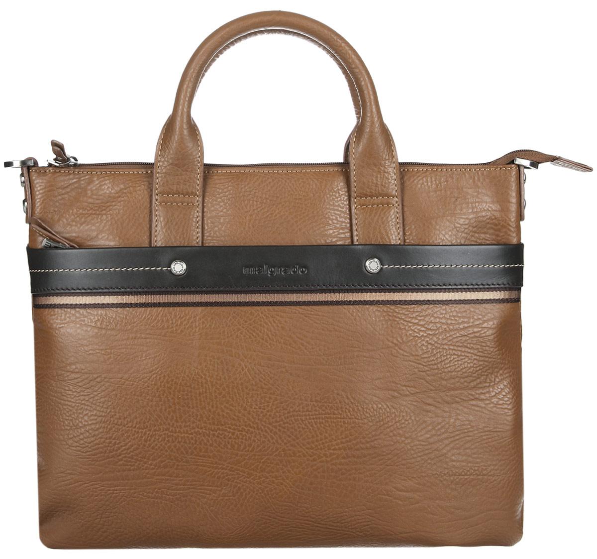 8240ae49f4aa Сумка мужская Malgrado, цвет: коричневый. BR09-318B4932 — купить в  интернет-магазине OZON.ru с быстрой доставкой