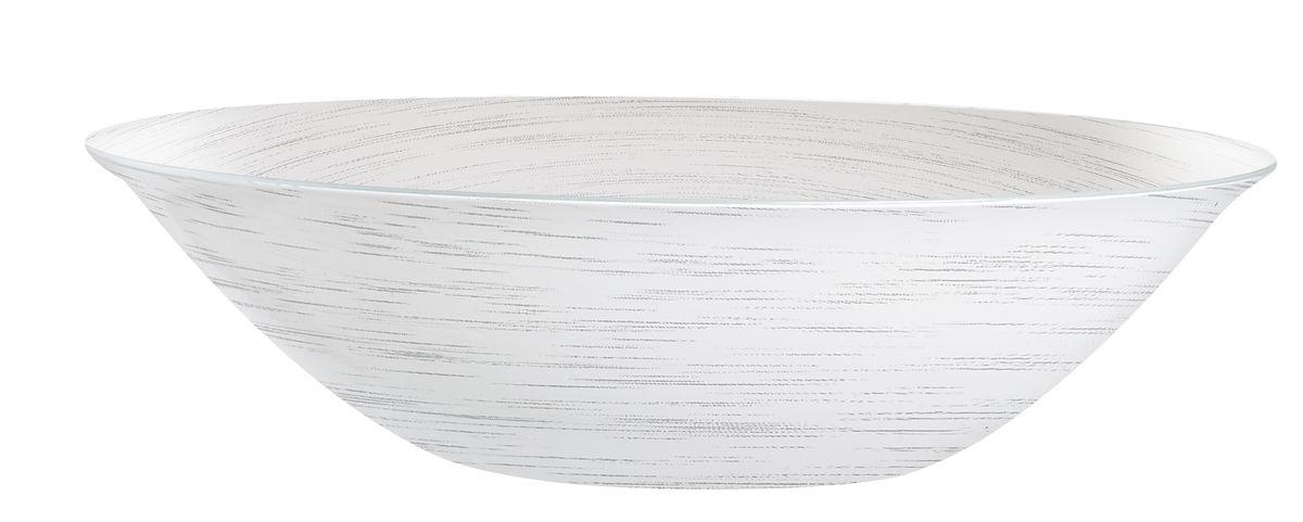 Миска Luminarc Stonemania, цвет: белый, серый, диаметр 16,5 см миска luminarc fizz lemon диаметр 16 см
