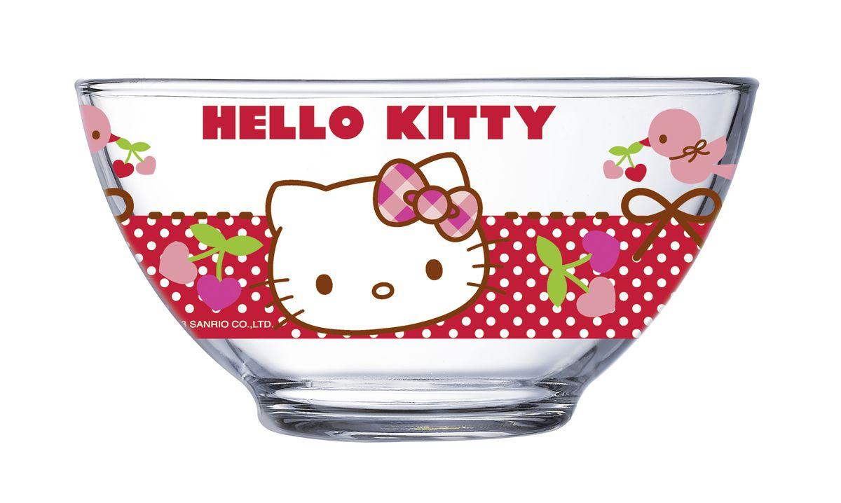 Салатник Luminarc Hello Kitty, 500 мл салатник luminarc космос 12см 0 6л стекло