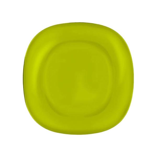Тарелка десертная Luminarc Colorama, цвет: зеленый, 18 х см