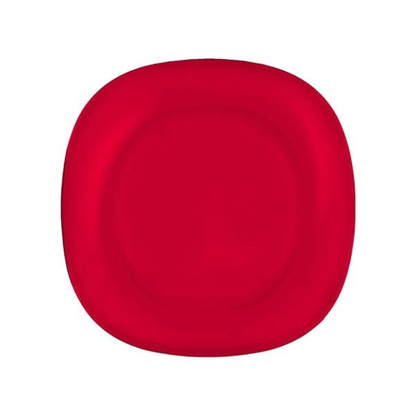 Тарелка десертная Luminarc Colorama, цвет: красный, 18 х см