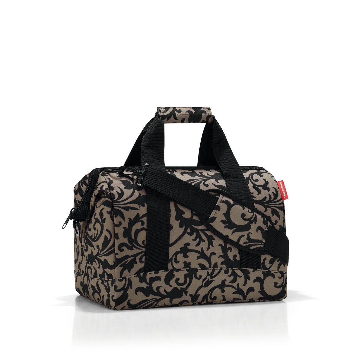 Сумка женская Reisenthel, цвет: бежевый, черный. MS7027 сумка женская reisenthel цвет бежевый черный ms7027