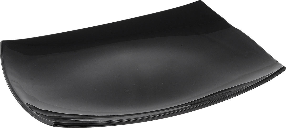 "Блюдо Luminarc ""Quadrato Black"", 35 см х 25,5 см"