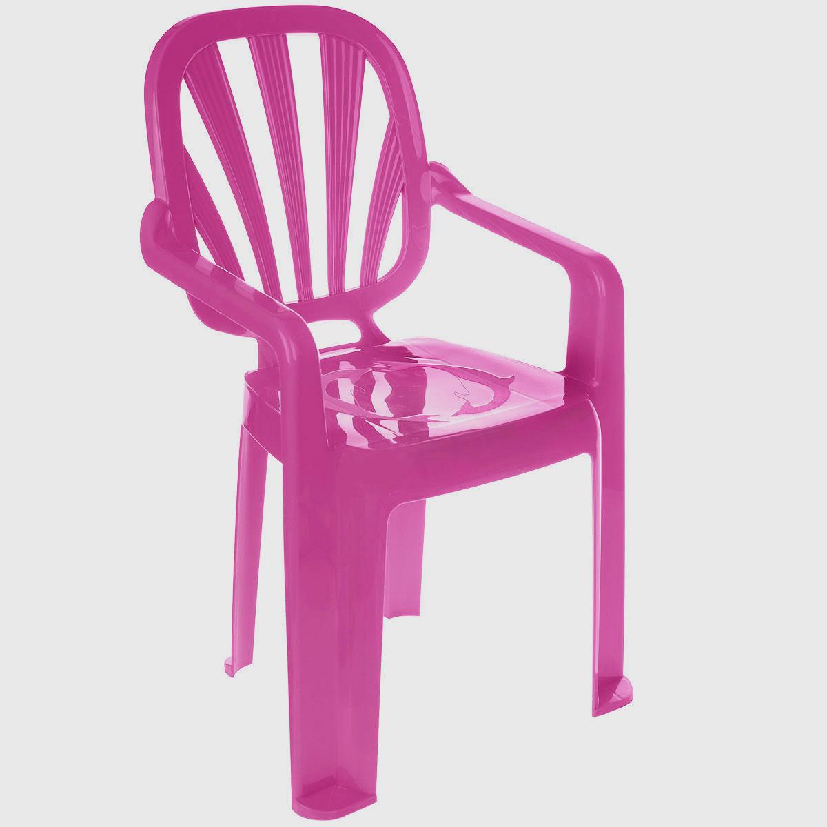 стульчик боровичи стул детский котенок Idea Стульчик детский Арлекино цвет малиновый