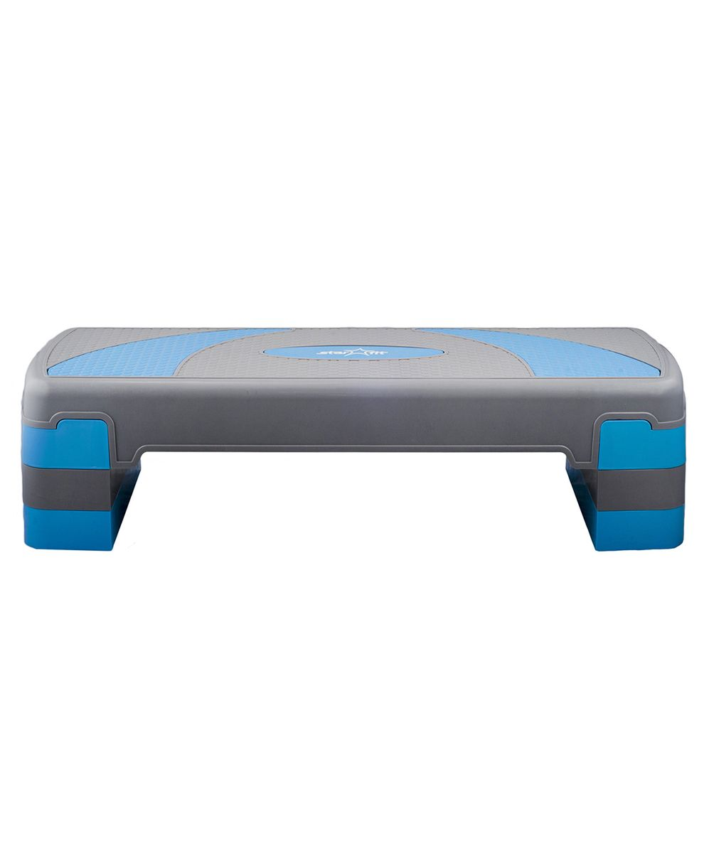 Степ-платформа Starfit SP-202 80 х 30 х 20 см, 3-х уровневая степ доска для аэробики indigo 3 уровня 72 х 36 см%2