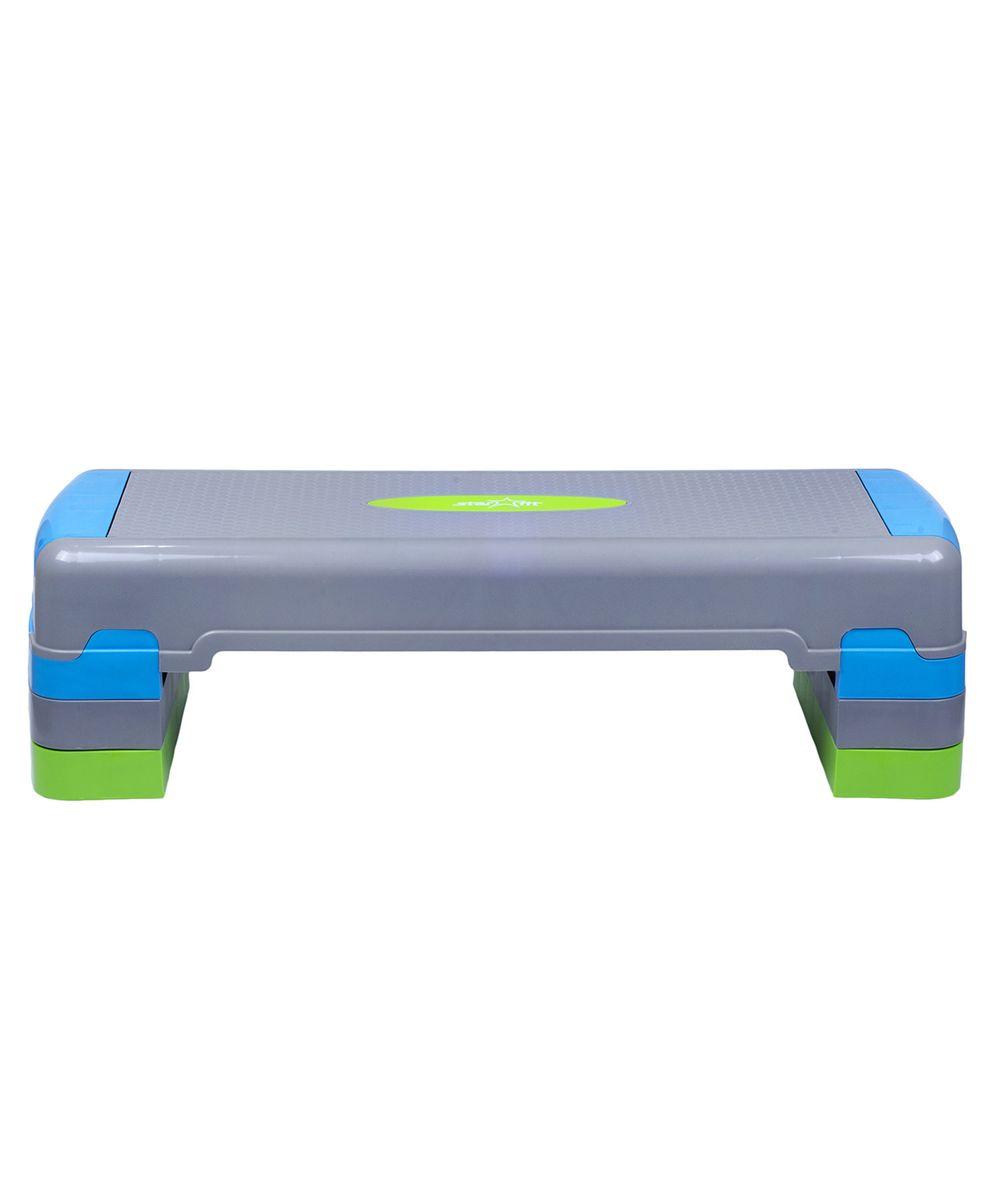 Степ-платформа Starfit SP-203, 3-уровневая, 90,5 х 32,5 х 24 см цена