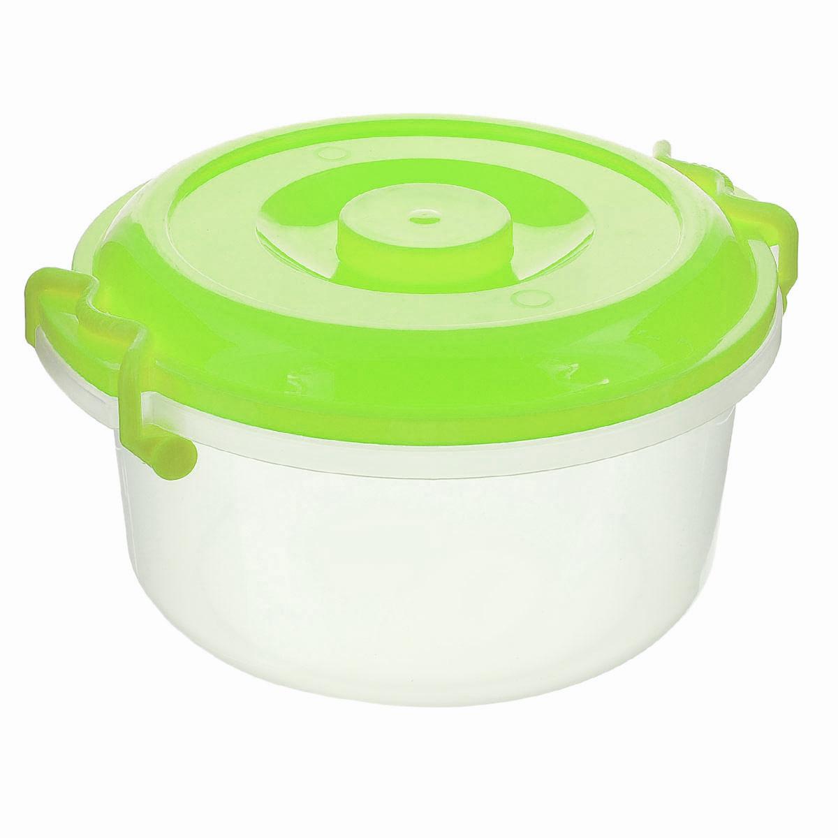 Контейнер Альтернатива, цвет в ассортименте, 5 л ящики для игрушек альтернатива башпласт контейнер лапландия 7 л