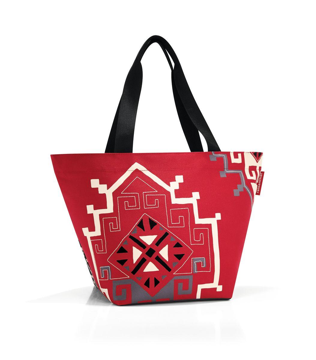 Сумка женская Reisenthel, цвет: красный, черный, светло-бежевый. ZS7035 сумка женская reisenthel цвет бежевый черный ms7027