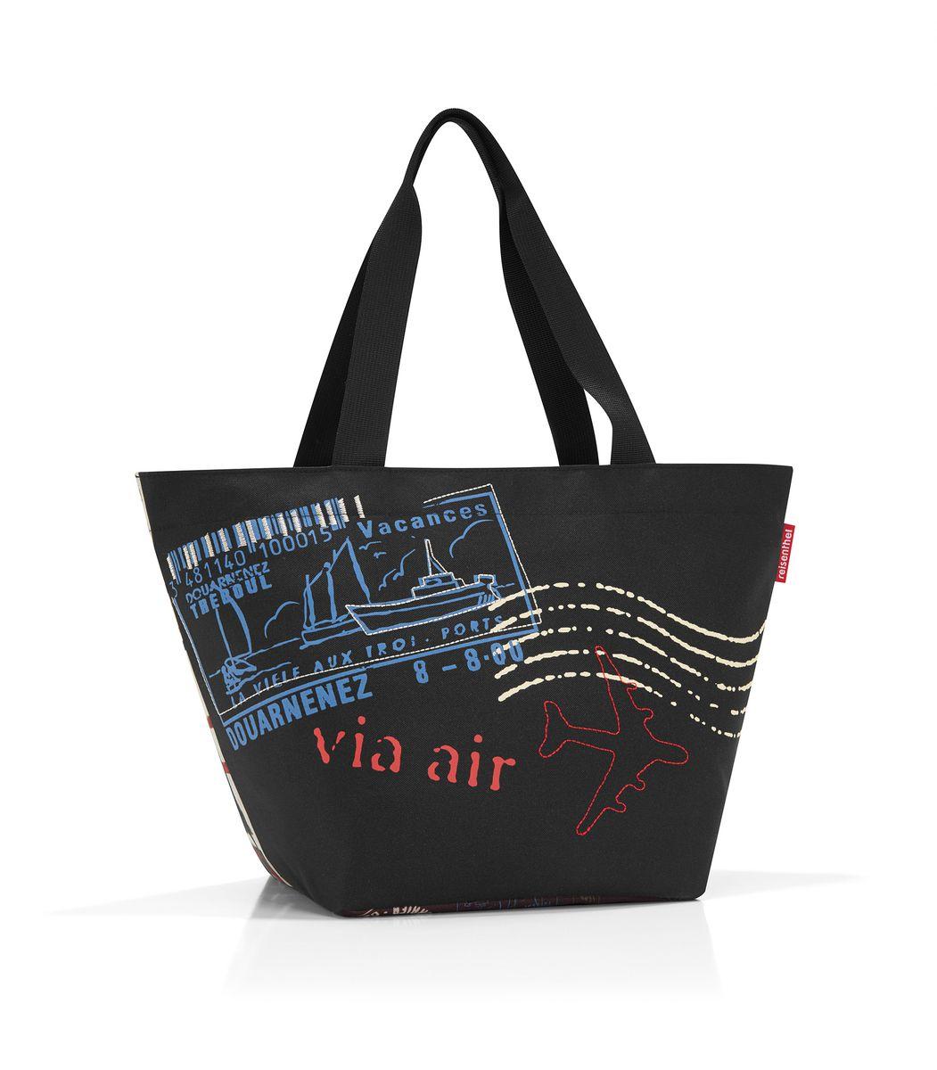 Сумка женская Reisenthel, цвет: черный, мультиколор. ZS7037 сумка женская reisenthel цвет бежевый черный ms7027