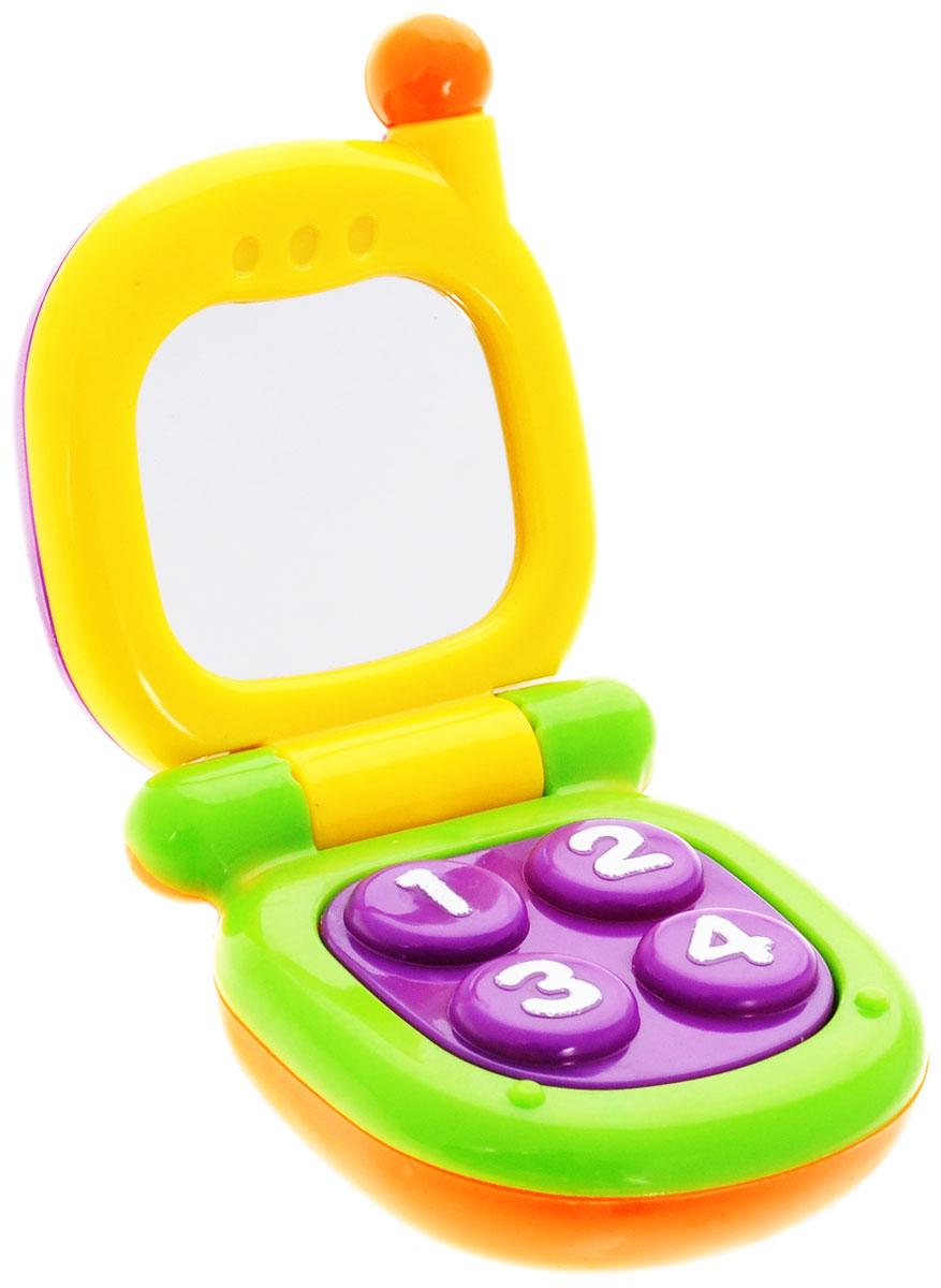 Фото - Mioshi Игрушка Телефон с зеркальцем проводной и dect телефон foreign products vtech ds6671 3