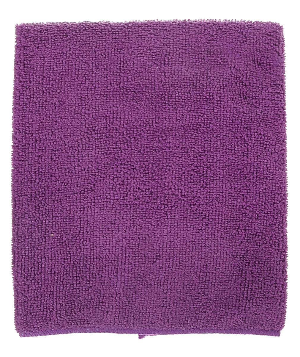 Салфетка универсальная York Prestige, впитывающая, цвет: фиолетовый, 38 х 38 см салфетка для ухода за стеклянными поверхностями smart glass из микрофибры 30 х 30 см