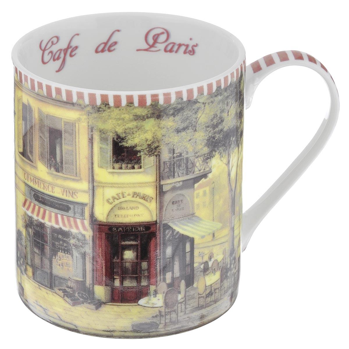Кружка Gift'n'Home Парижское кафе, 400 мл цена