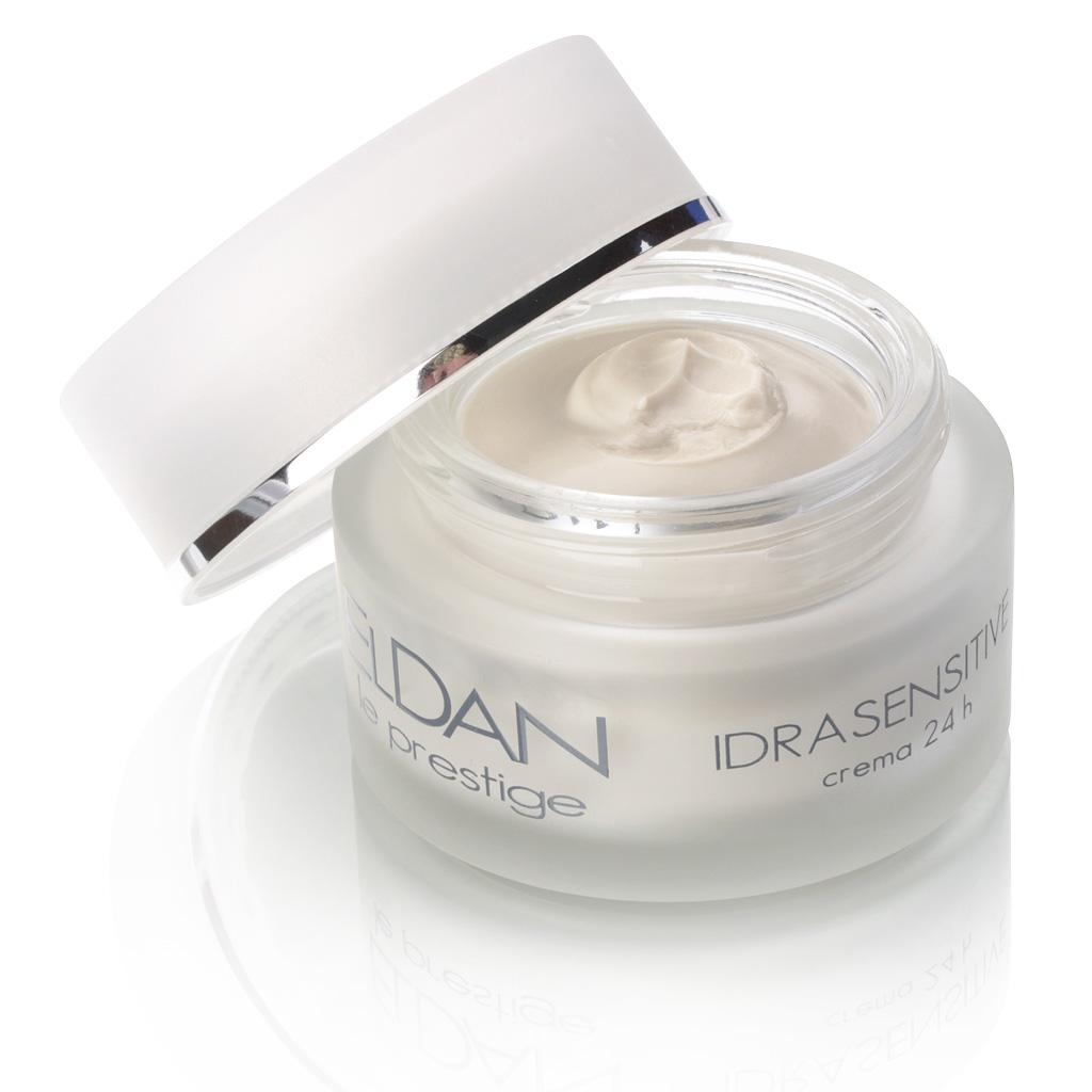 ELDAN cosmetics Увлажняющий крем чувствительной кожи лица 24 часа Le Prestige, 50 мл eldan cosmetics крем гель для жирной кожи лица le prestige 50 мл