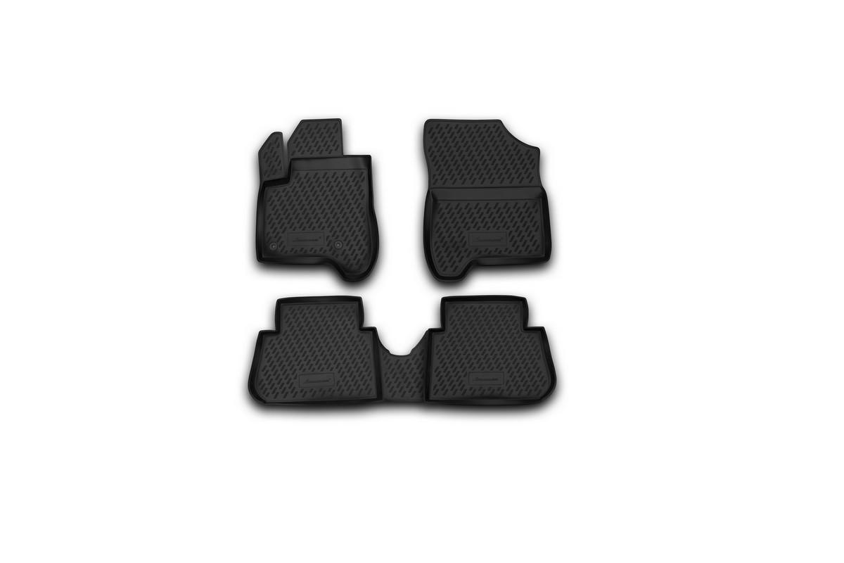 Набор автомобильных ковриков Element для Citroen C3 Picasso 2009-, в салон, 4 штCARCRN00027Набор автомобильных ковриков Element, изготовленный из полиуретана, состоит из 4 ковриков, которые учитывают все особенности каждой модели автомобиля и полностью повторяют контуры пола. Полиуретановые автомобильные коврики для салона произведены из высококачественного материала, который держит форму, прочный и не пачкает обувь. Коврики в салон не только улучшат внешний вид салона вашего автомобиля, но и надежно уберегут его от пыли, грязи и сырости, а значит, защитят кузов от коррозии. Полиуретановые коврики для автомобиля гладкие, приятные и не пропускают влагу. Ковры для автомобилей надежно крепятся на полу и не скользят, что очень важно во время движения. Чистятся коврики очень просто: как при помощи автомобильного пылесоса, так и различными моющими средствами. Набор подходит для Citroen C3 Picasso с 2009 года выпуска.