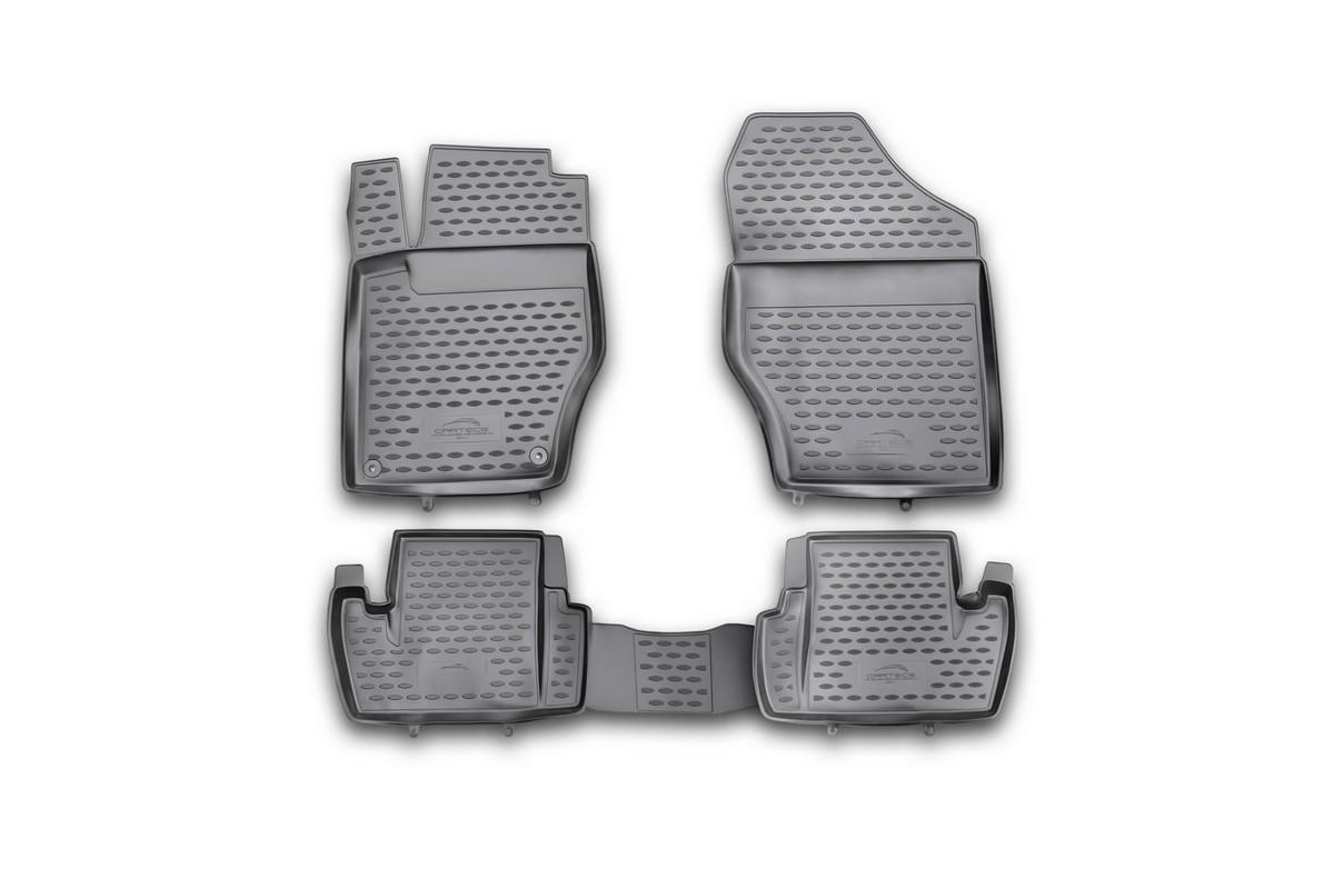Набор автомобильных ковриков Element для Citroen C4 2011-, в салон, 4 шт комплект ковриков в салон автомобиля element chery indis 2011