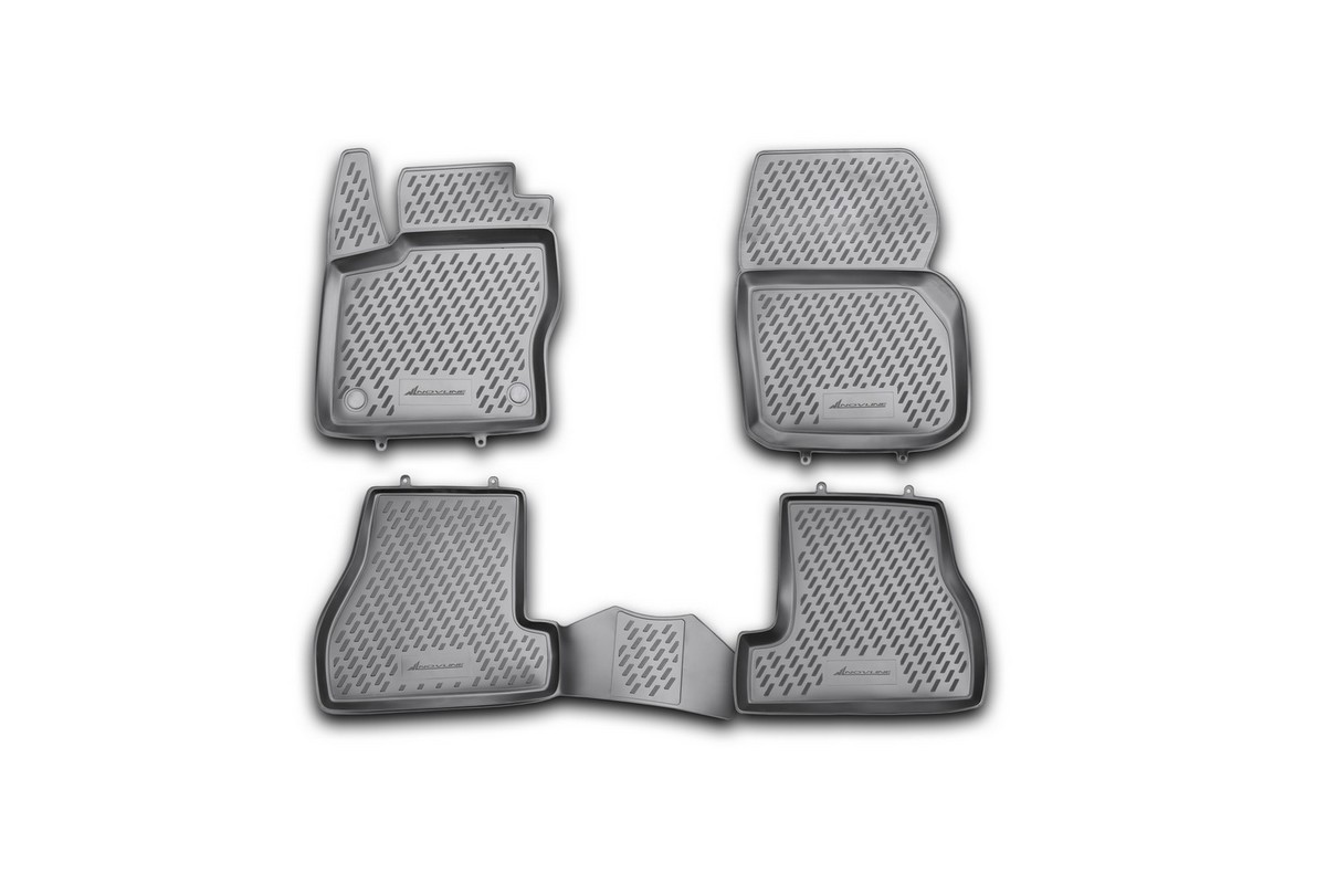Набор автомобильных ковриков Element для Ford Focus 3, 04/2011-2015, в салон, 4 шт комплект ковриков в салон автомобиля element chery indis 2011