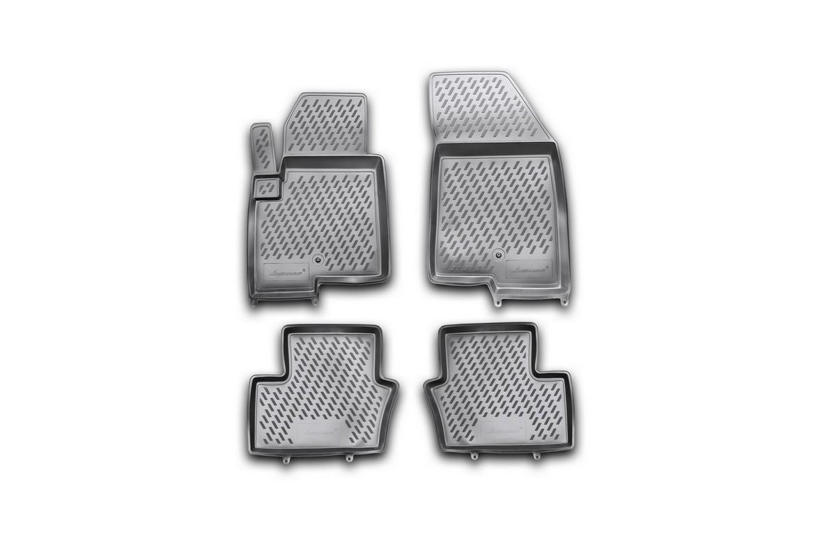 Набор автомобильных ковриков Element для Jeep Compass New 2011-, в салон, 4 шт