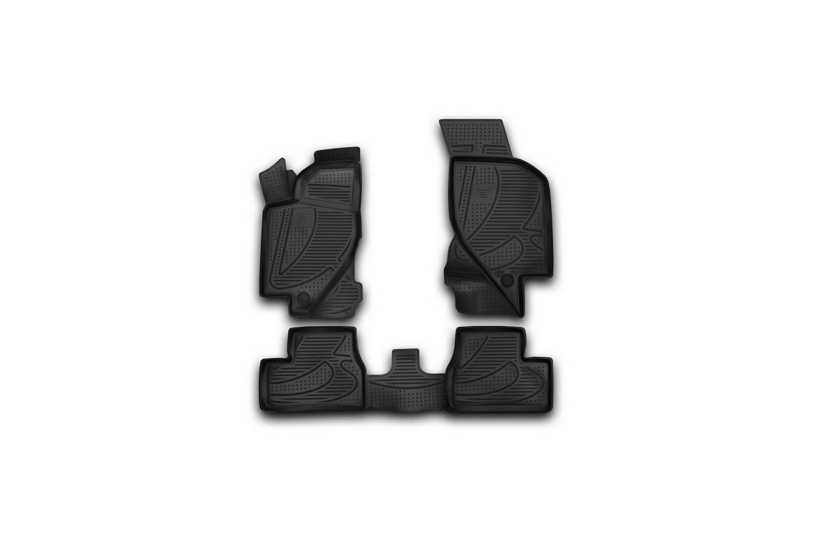 Набор автомобильных 3D-ковриков Element для Lada Kalina, 2004->, в салон, 4 штF400250E1Набор Element состоит из 4 ковриков, изготовленных из полиуретана. Основная функция ковров - защита салона автомобиля от загрязнения и влаги. Это достигается за счет высоких бортов, перемычки на тоннель заднего ряда сидений, элементов формы и текстуры, свойств материала, а также запатентованной технологией 3D-перемычки в зоне отдыха ноги водителя, что обеспечивает дополнительную защиту, сохраняя салон автомобиля в первозданном виде. Материал, из которого сделаны коврики, обладает антискользящими свойствами. Для фиксации ковров в салоне автомобиля в комплекте с ними используются специальные крепежи. Форма передней части водительского ковра, уходящая под педаль акселератора, исключает нештатное заедание педалей. Набор подходит для Lada Kalina с 2004 года выпуска. Рекомендуем!