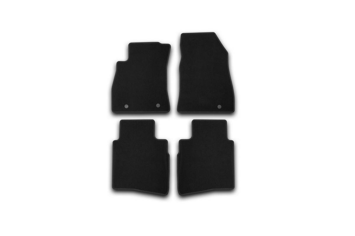 Набор автомобильных ковриков Klever для Nissan Sentra 2014-, седан, в салон, 4 шт. KVR01364101200k текстильные коврики в салон nissan ke7454mf01 для nissan sentra 2014