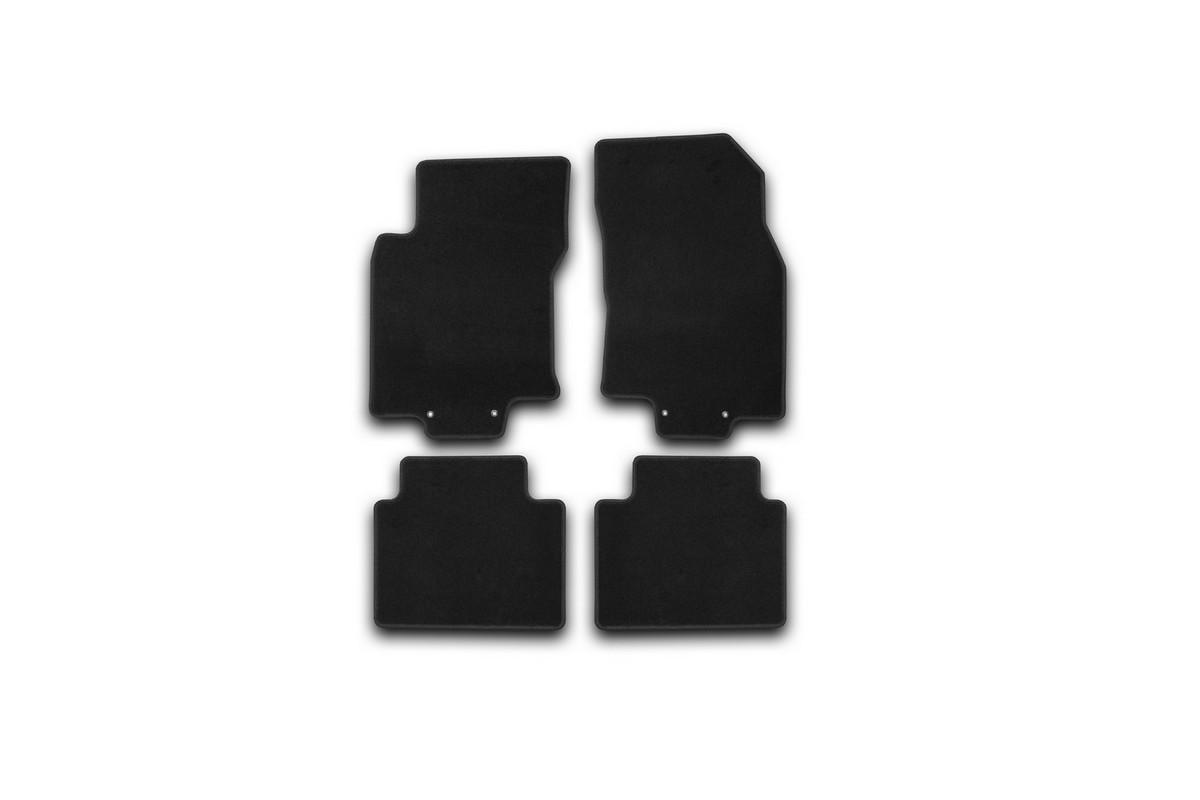 Набор автомобильных ковриков Klever для Nissan X-Trail 2014-, внедорожник, в салон, 4 шт. KVR01365401200k комплект ковриков в салон автомобиля klever nissan x trail 2014 econom