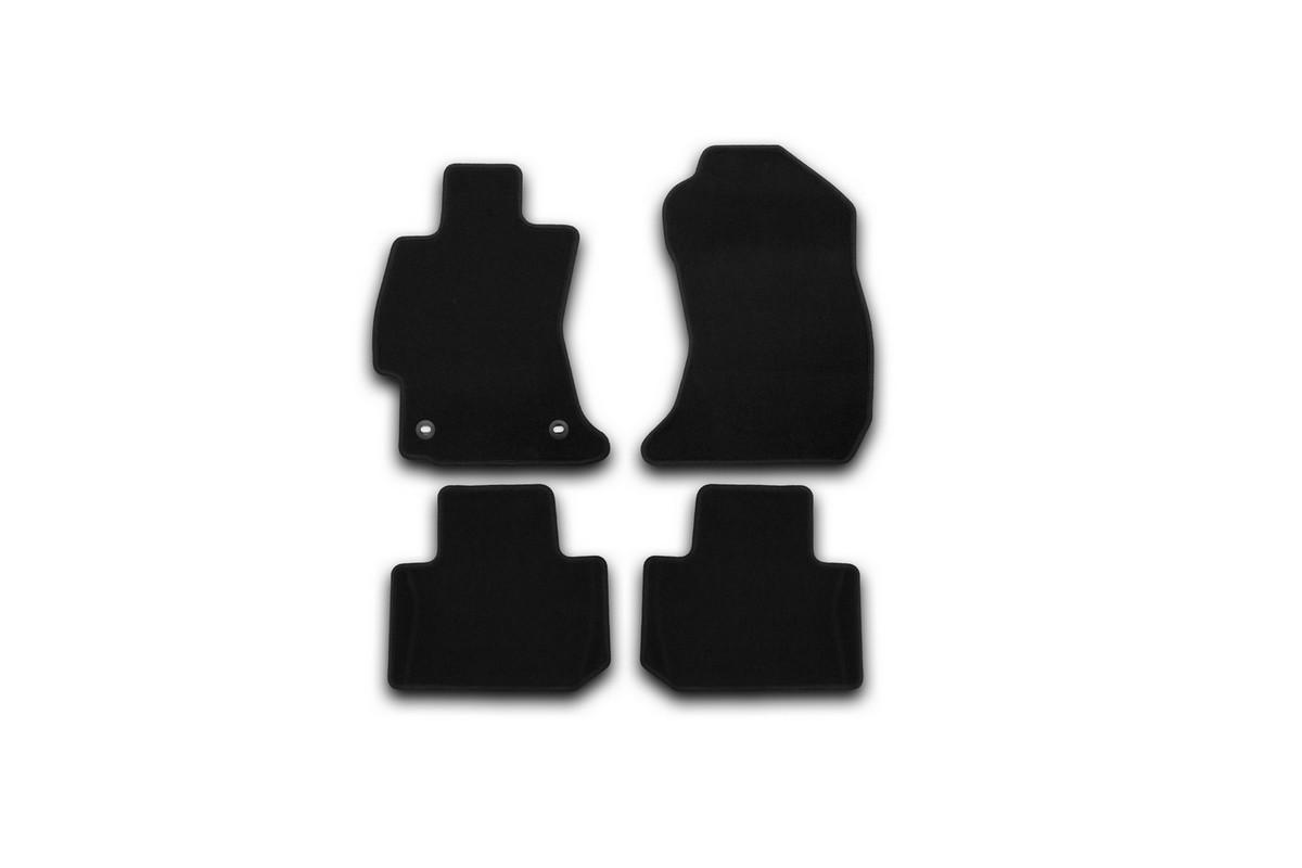 Набор автомобильных ковриков Klever для Subaru Forester 2013-, кроссовер, в салон, 4 шт. KVR01461901200k
