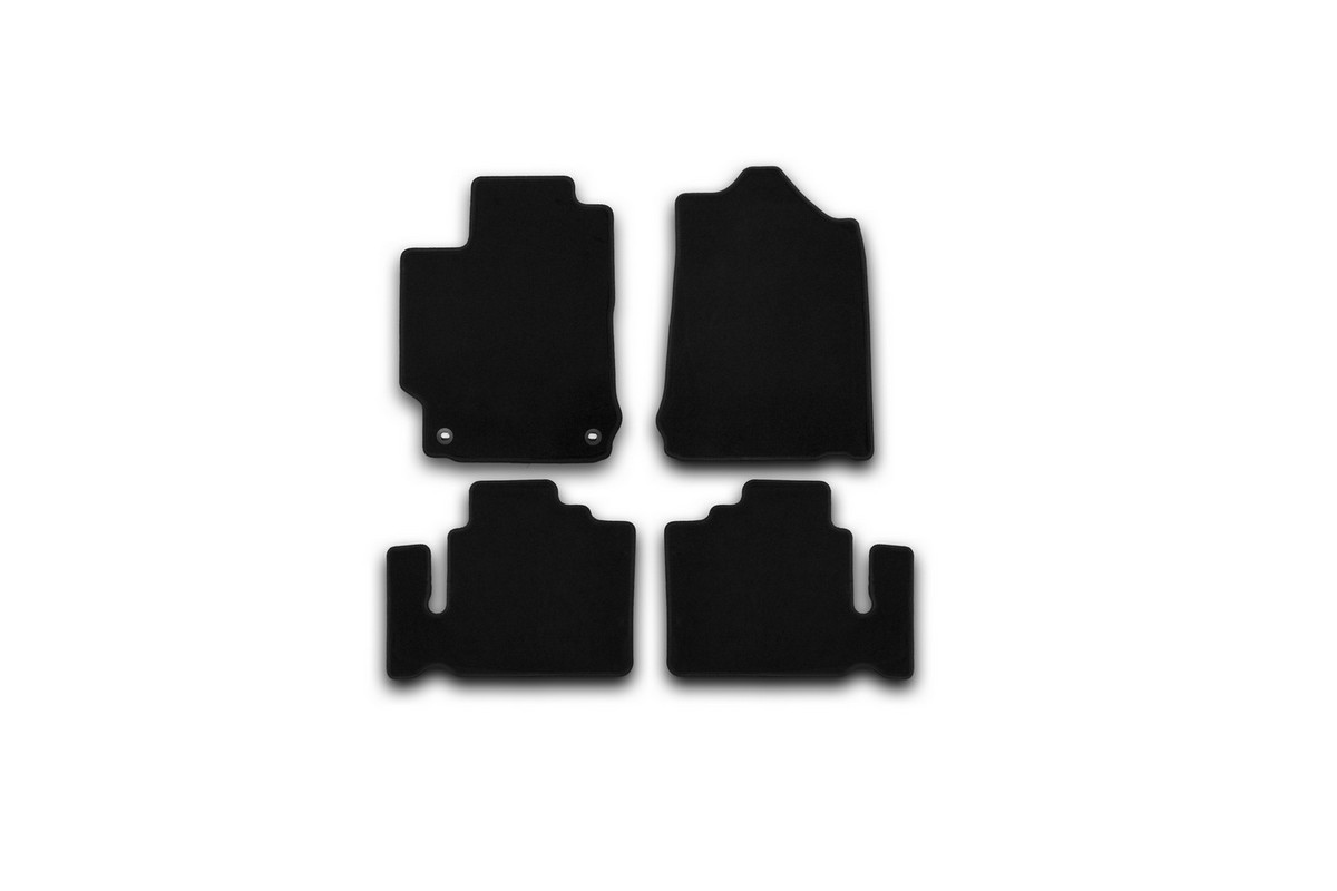 Набор автомобильных ковриков Klever для Toyota Camry 2011-, седан, в салон, 4 шт. KVR01485601200k недорго, оригинальная цена