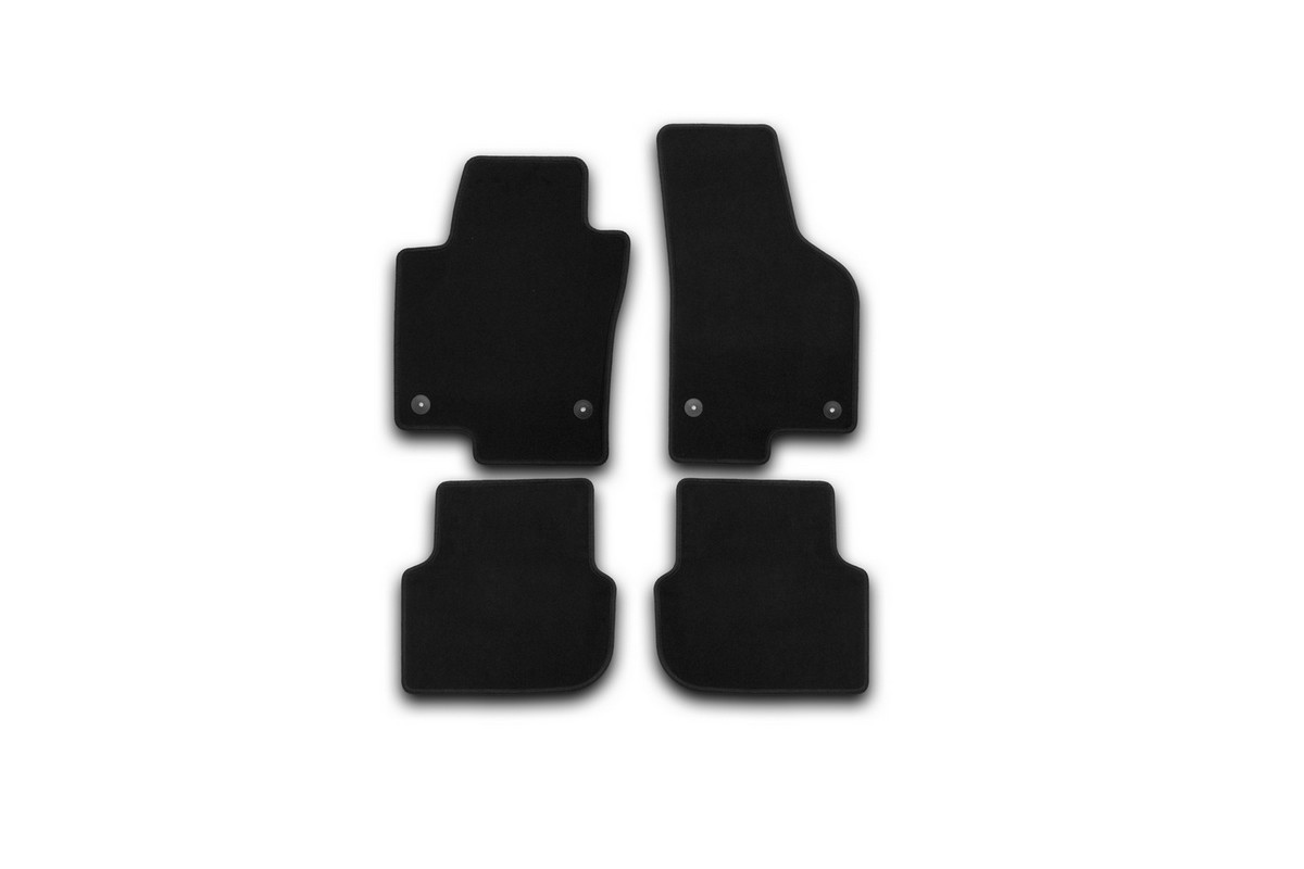 Набор автомобильных ковриков Klever для Volkswagen Jetta 2011-, седан, в салон, 4 шт. KVR01513801200k недорго, оригинальная цена