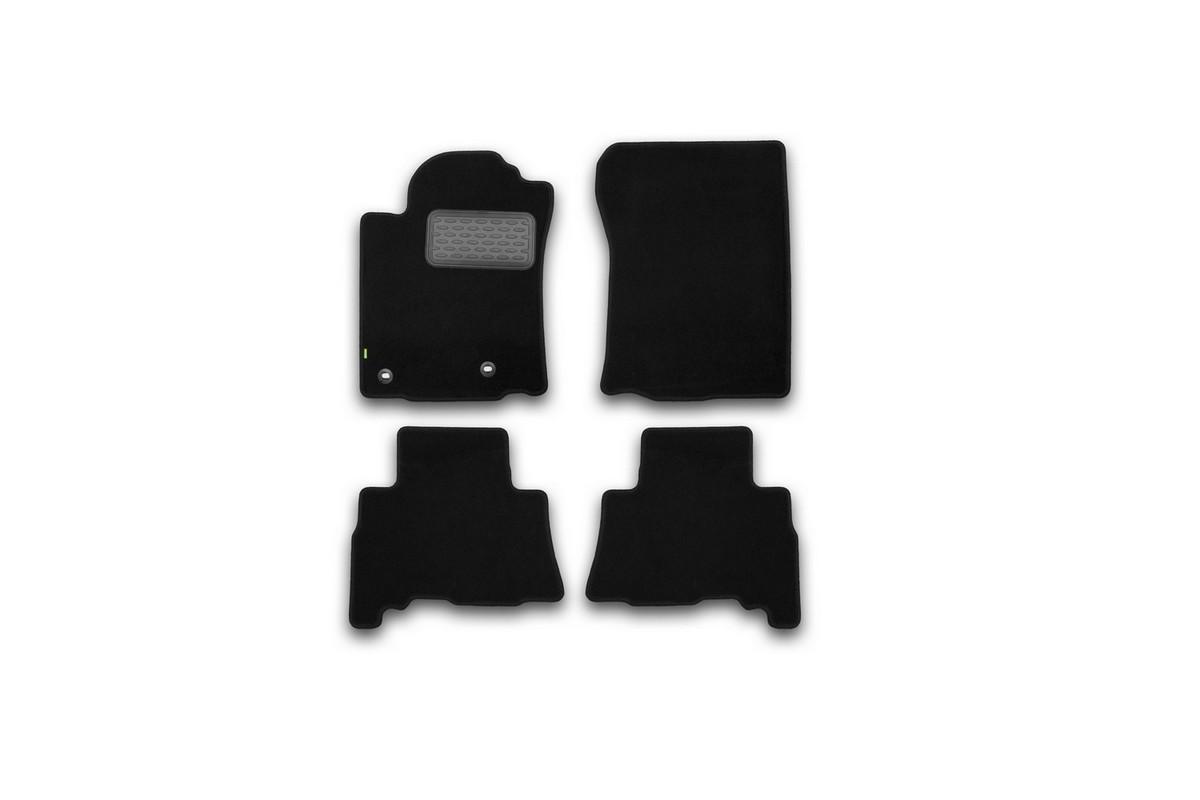 Набор автомобильных ковриков Klever для Toyota Lend Cruiser 150 2013-2015, 2015-, 5 мест, внедорожник, в салон, 4 шт. KVR02482901210kh цены онлайн