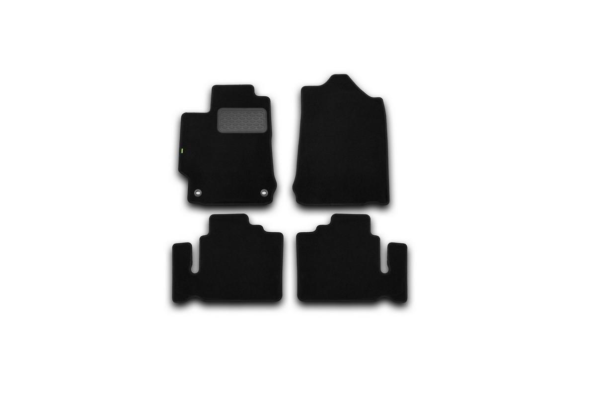 Набор автомобильных ковриков Klever для Toyota Camry 2011-, седан, в салон, 4 шт. KVR02485601210kh недорго, оригинальная цена