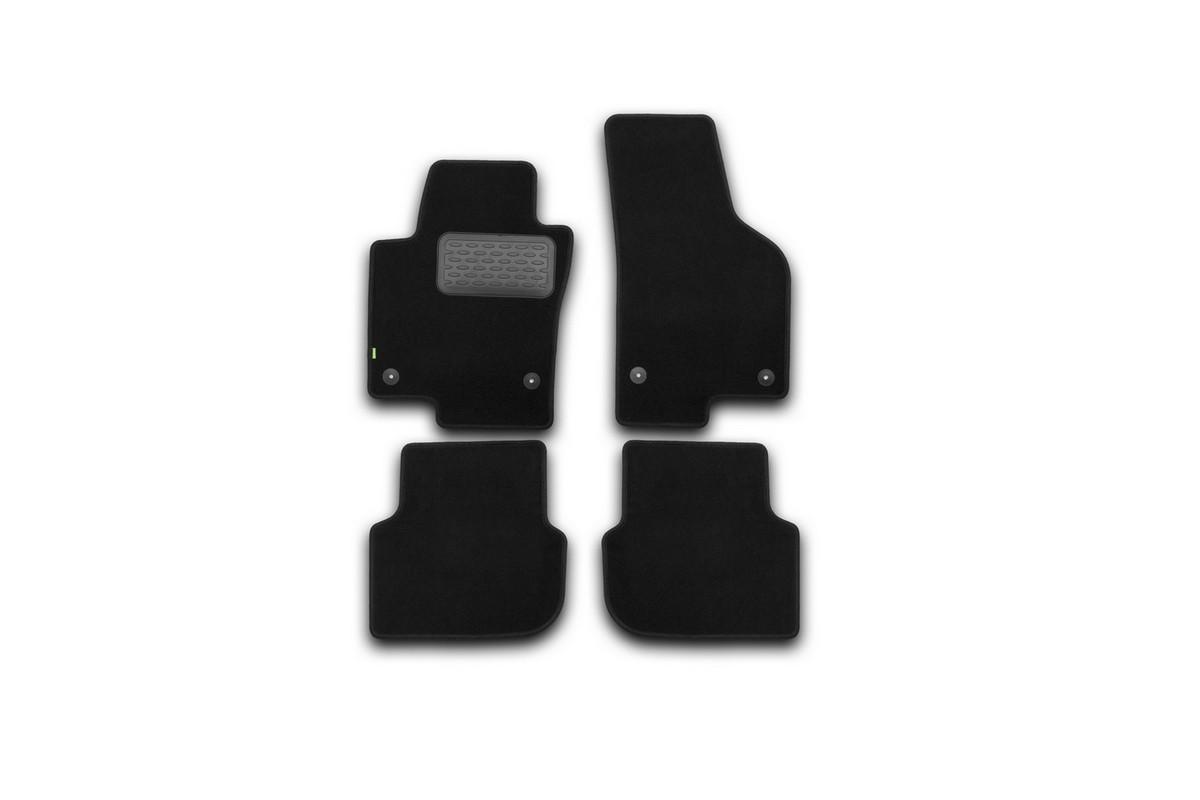 Набор автомобильных ковриков Klever для Volkswagen Jetta 2011-, седан, в салон, 4 шт. KVR02513801210kh недорго, оригинальная цена