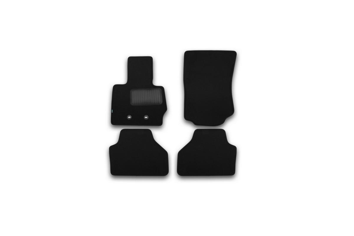 Набор автомобильных ковриков Klever для BMW X3 2010-2014, 2014-, кроссовер, в салон, 4 шт. KVR03051622110kh комплект ковриков в салон автомобиля klever toyota highlander 2014 standard