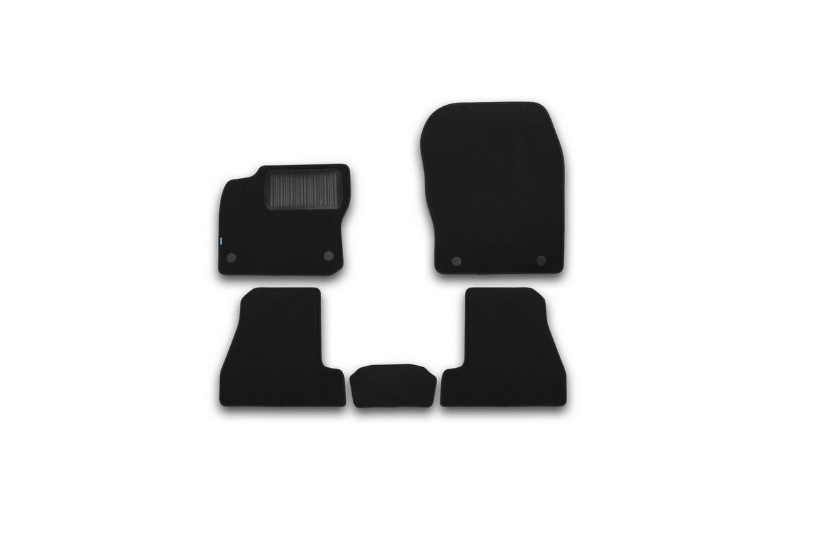 Набор автомобильных ковриков Klever для Ford Focus III 2015-, седан, в салон, 5 шт набор автомобильных ковриков klever для ford focus iii 2015 седан в салон 4 шт kvr02166801210kh